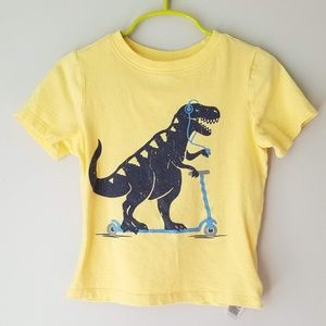 Old Navy Dinosaur Scooter tee size 3T